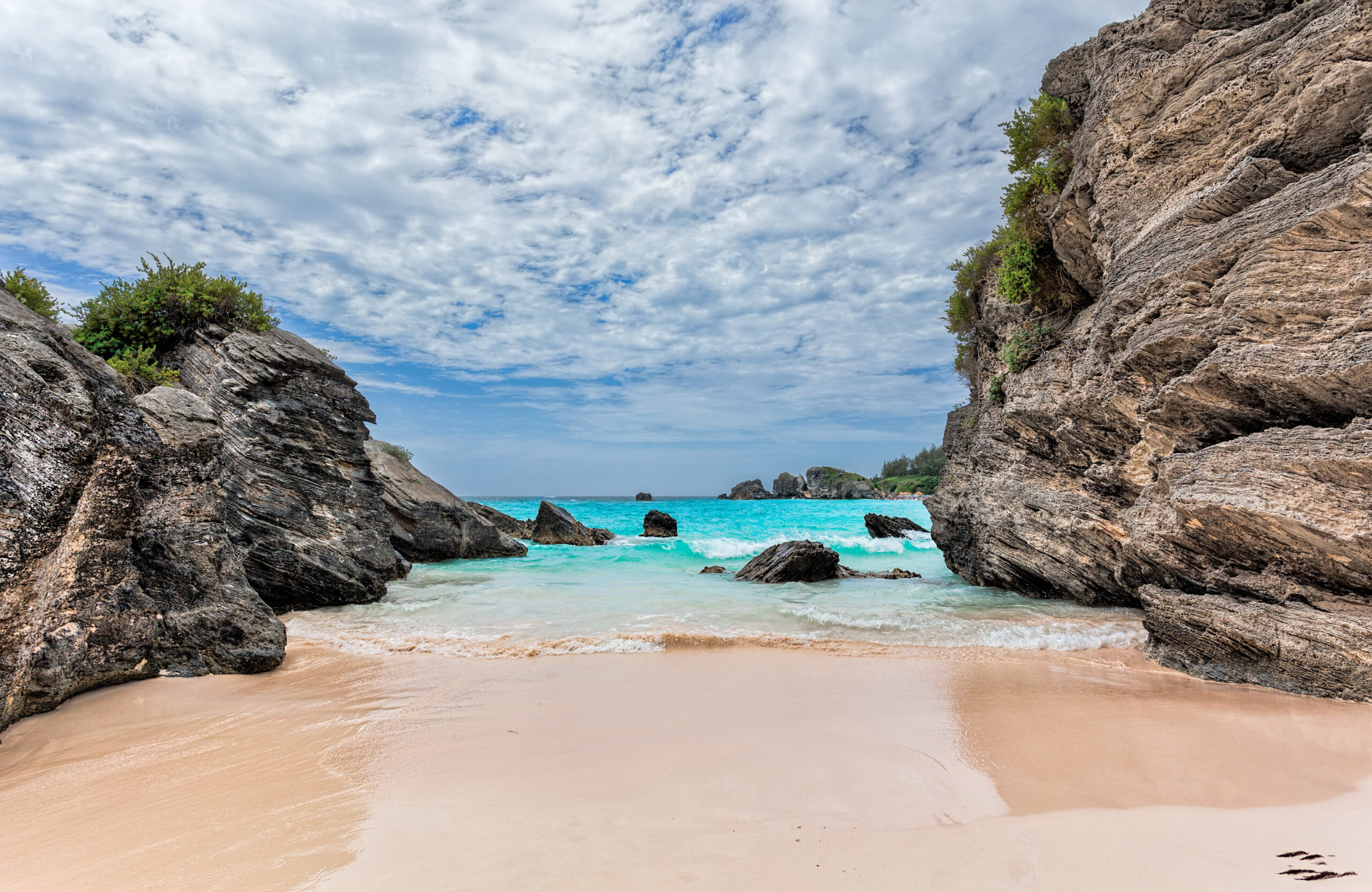 Horseshoe Bay - Pink Beaches in Bermuda