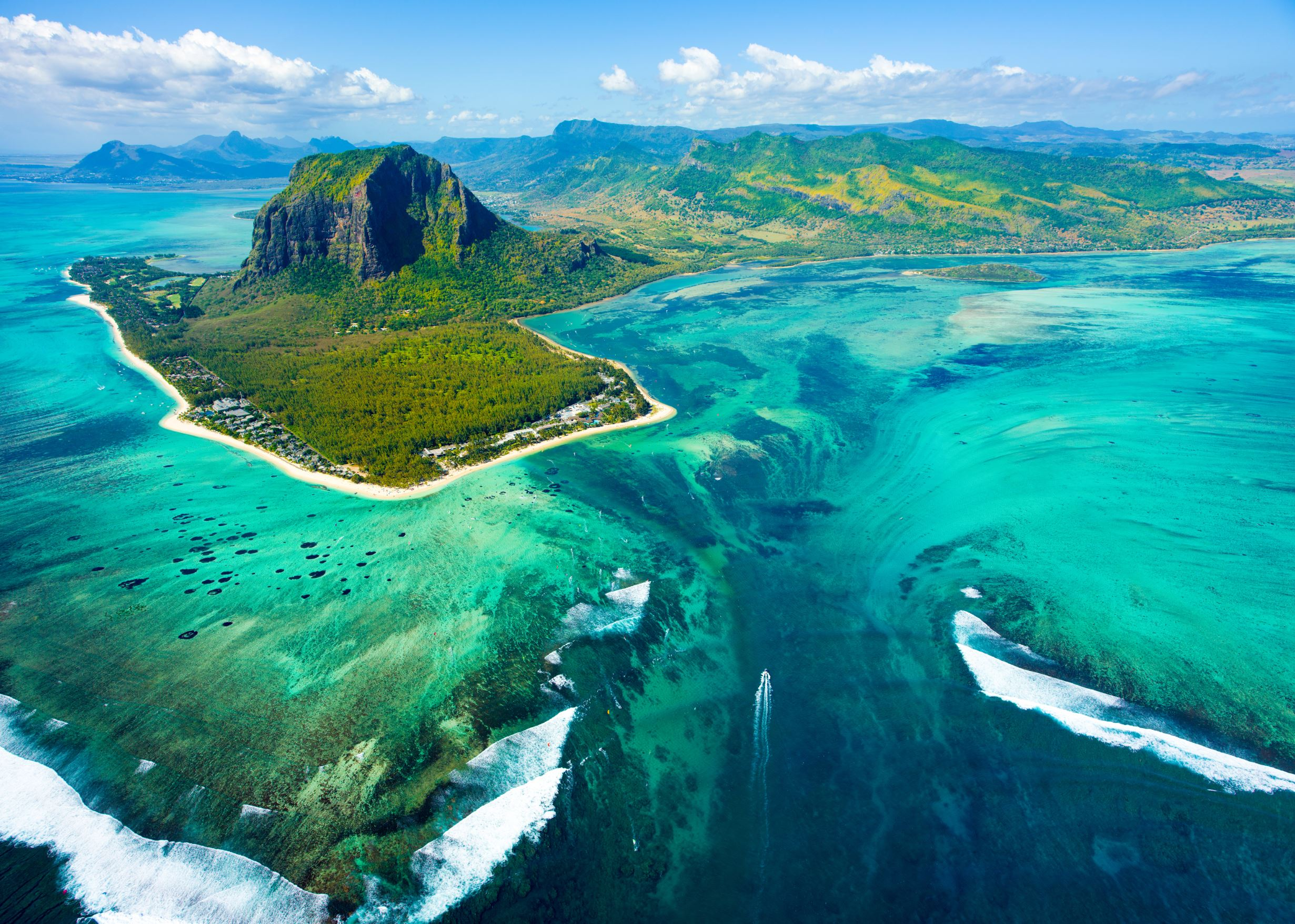 Aerial View - Things to do in Mauritius2