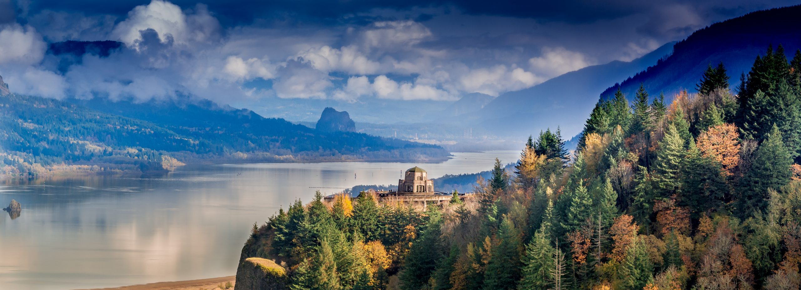 Columbia River Gorge - Best Fall Vacations in the U.S.