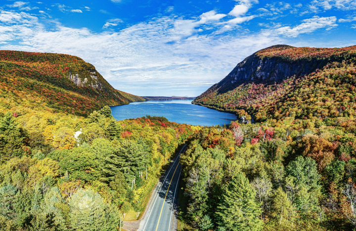 Lake Willoughby, Vermont - Best Fall Vacations in the U.S.