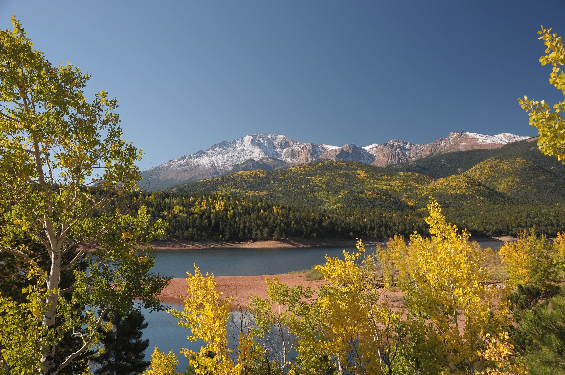 Pikes Peak Highway - Best Fall Vacations in the U.S.