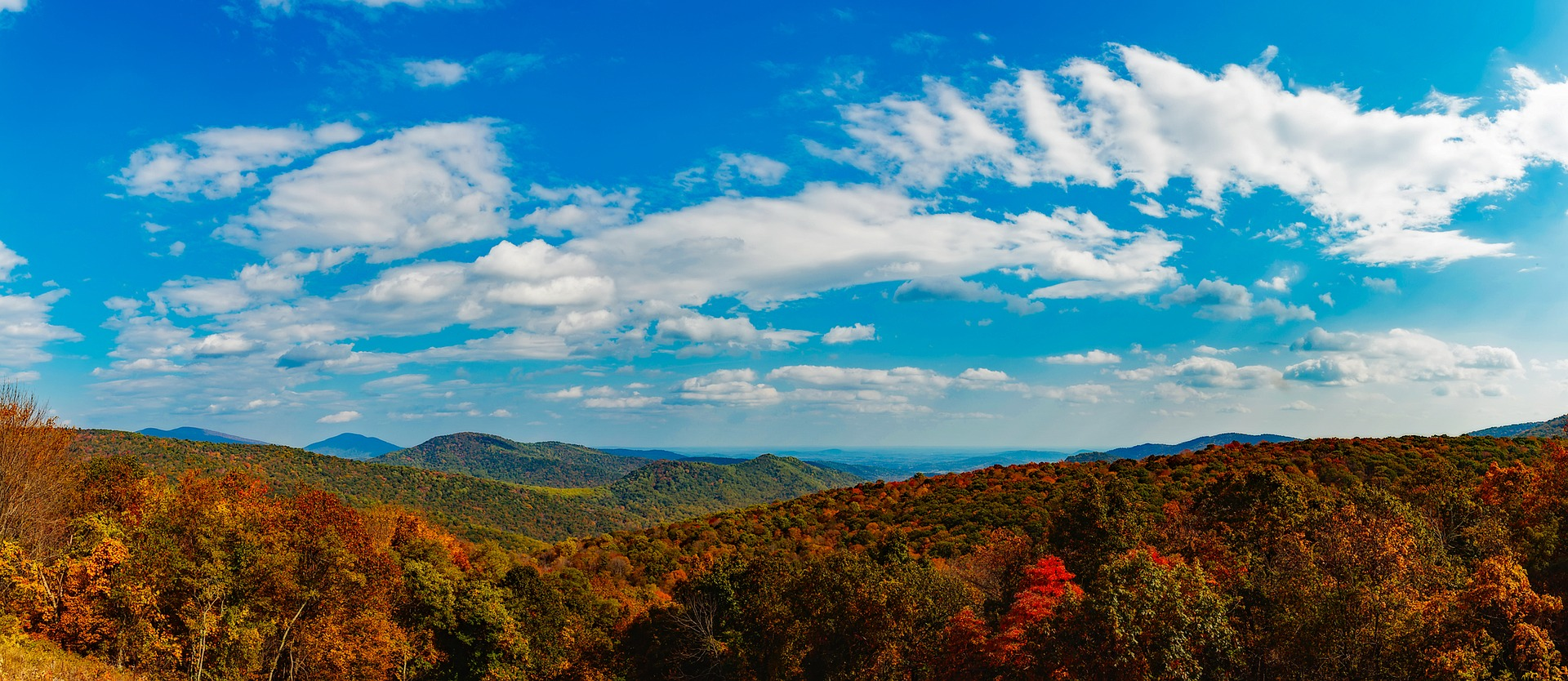 Shenandoah Valley - Best Fall Vacations in the U.S.